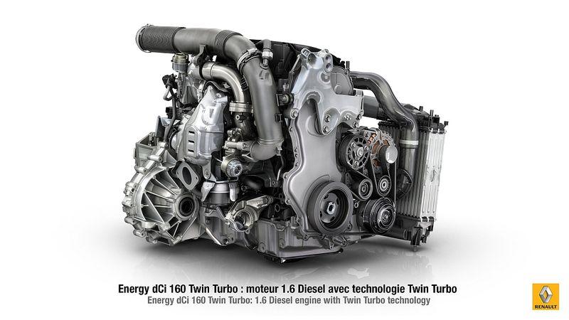 New Engine Energy dCi 160 Twin Turbo