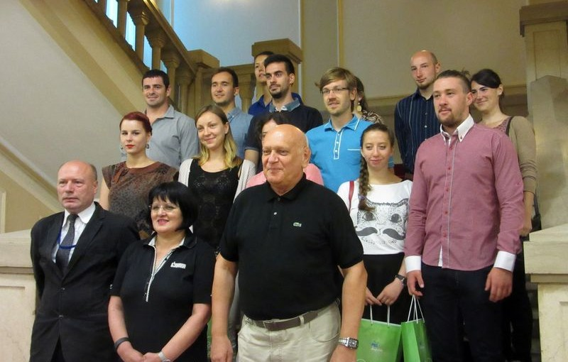 Gradonačelnik Gavranović primio strane studente