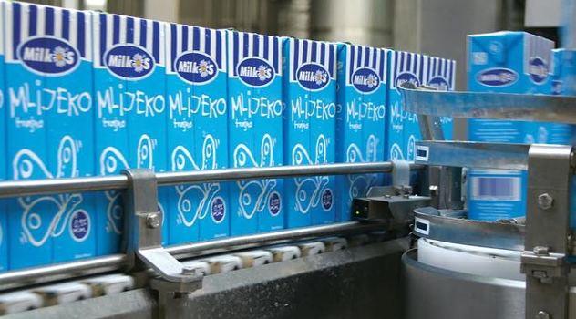 mlijeko izvoz