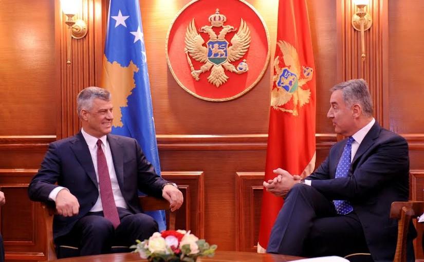 Crna Gora potpisuje sporazum o razgraničenju sa Kosmetom