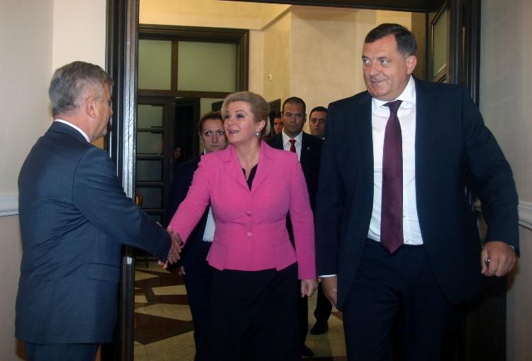Dodik: Sastanak sa delegacijom Hrvatske dobra poruka za mnoge