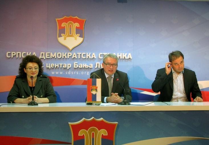 Bosić:  Nećemo podržati nacrt zakona o pravima izabranih predstavnika Srpske od 1991. do 1996.
