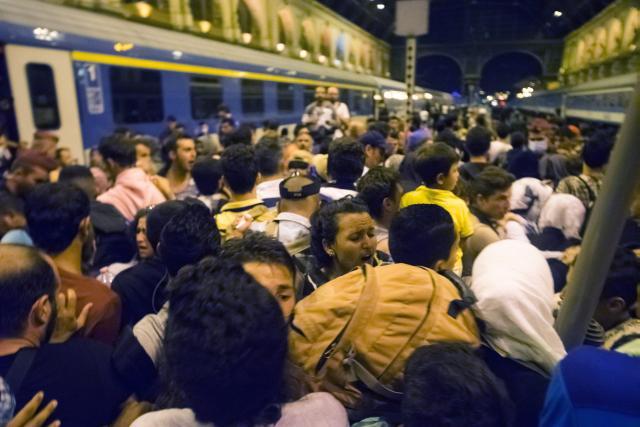 Migranti Budimpesta