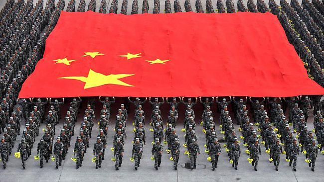 china-flag-parade