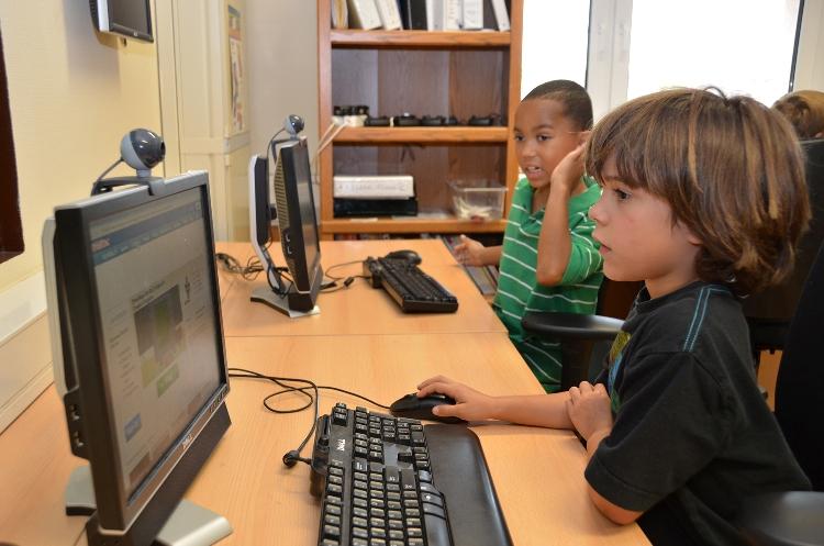 djeca kompjuter