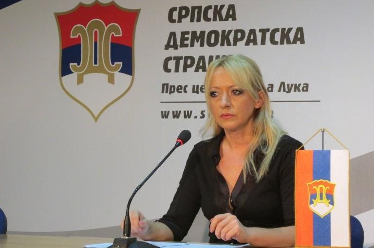 Pandurevićeva: Formiranje višeg suda je atak na Ustav Republike Srpske!
