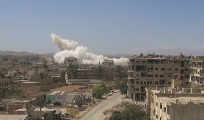(VIDEO) Rusija ušla u rat, bombardovani položaji ID u Siriji
