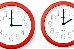 Pomjeranje sata unazad