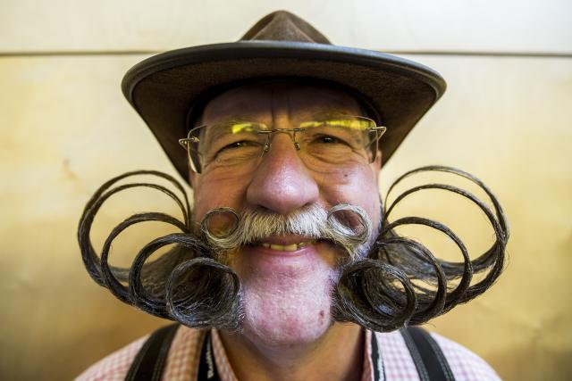 Umjetnost brkovi brada