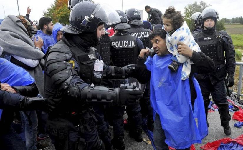 Slovenija: Policija bacila suzavac na izbjeglice