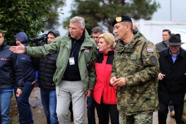 Kitarović: Nama treba ograda, ali nemojte to porediti sa Srebrenicom