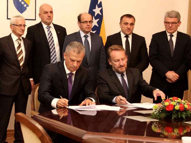 SDA i SBB potpisali sporazum o koaliciji