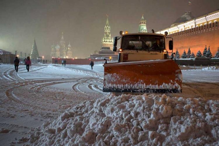 snijeg moskva