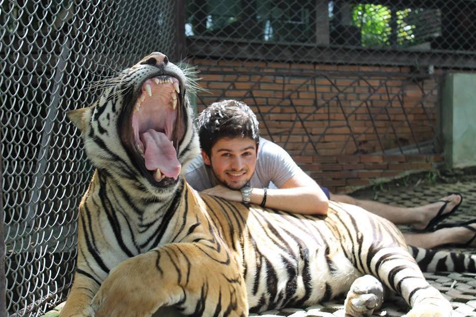 Chiang Mai (Tiger Kingdom), Tajland Novica Laketic