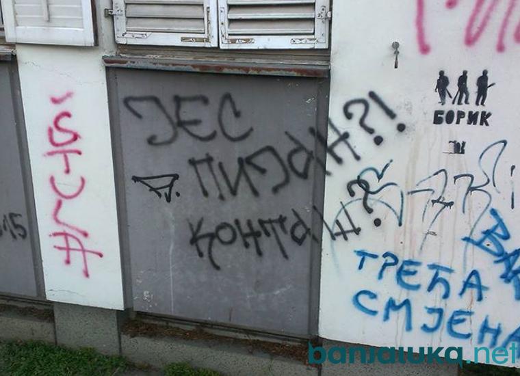 Banjaluka grafit 1