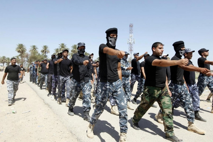 ISIL trening