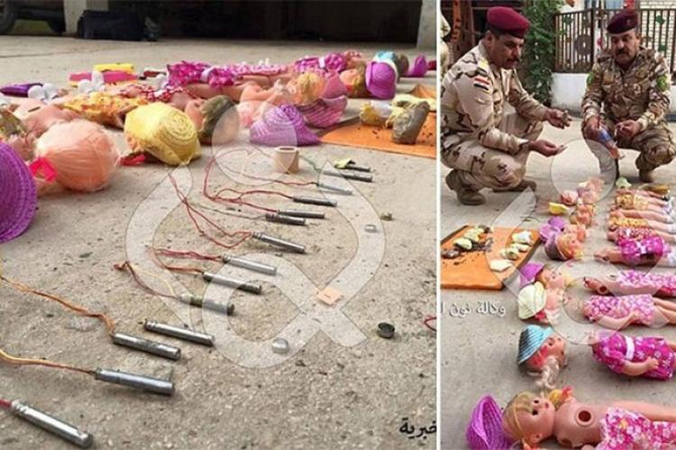 Lutke eksploziv ISIL
