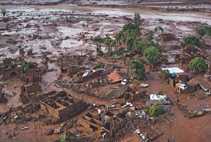 Rudnik Brazil nesreca