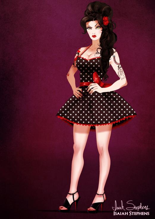 dizni - zla kraljica kao Amy