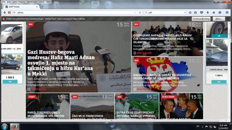 Ne mogu bez Srba, i gotovo: SAFF tvrdi da su prijetnje Vijestiummeta djelo velikosrpske propagande?!