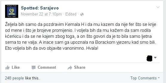 spotted sarajevo
