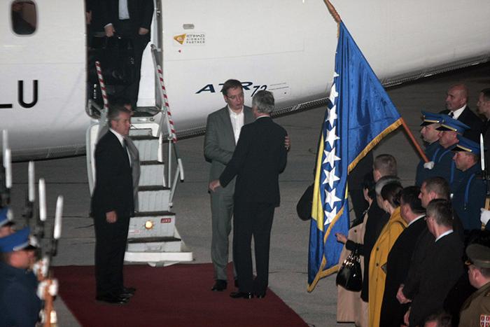 Delegacija Vlade Srbije doputovala u Sarajevo