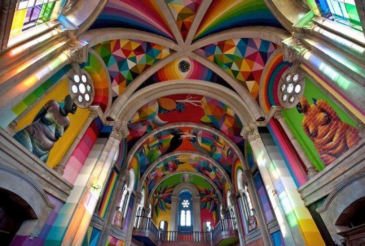 Španska crkva skejteri
