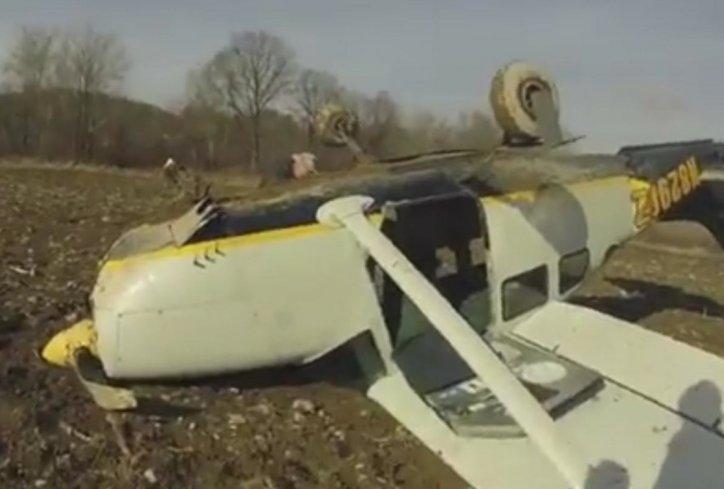 Avion nesreca