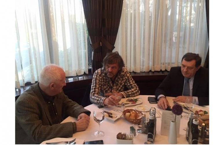 Dodik, Bećković i Kusturica