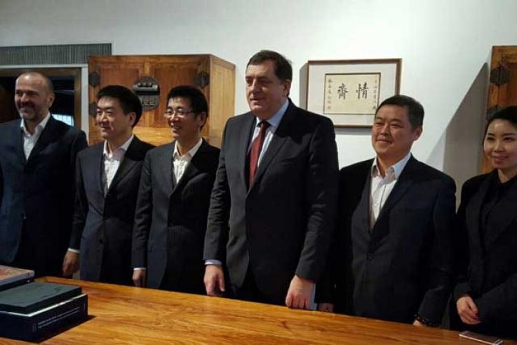 Dodik kineski investitori