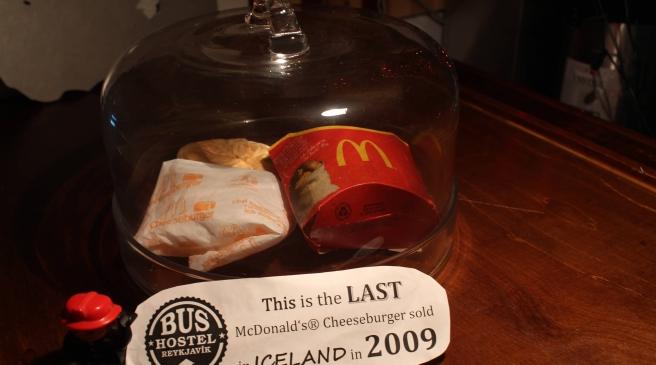 Island hamburger