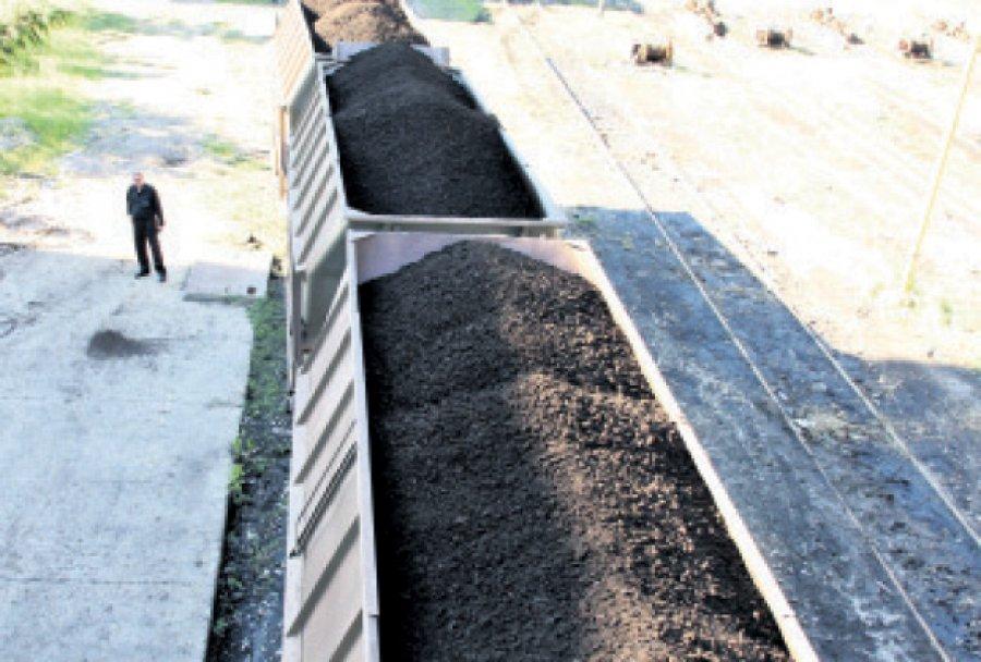 Kamion uglja