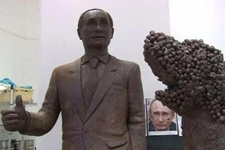 Putin od čokolade