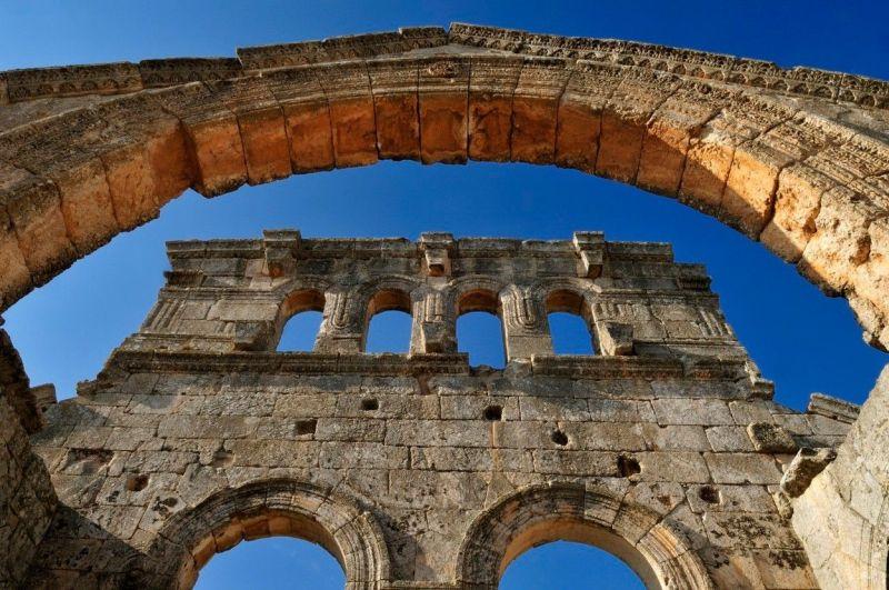 Ruine manastira Sveti Simeon u Siriji
