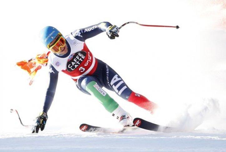 Spust skijanje