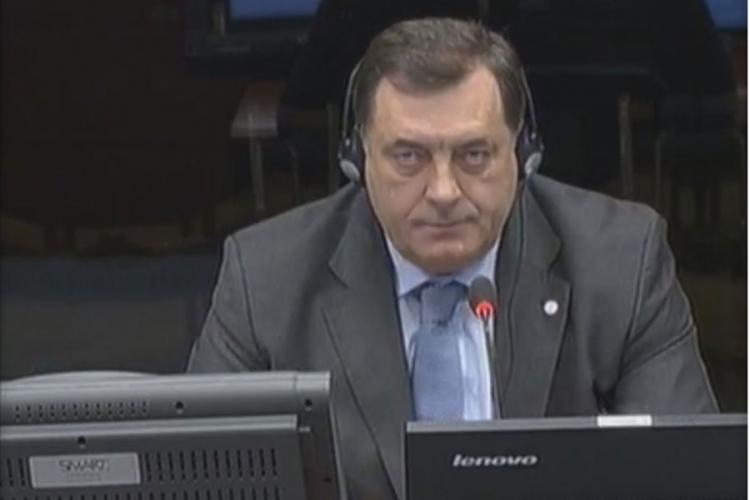 Dodik u Hagu: Nikada niko nije govorio o etničkom čišćenju i progonu