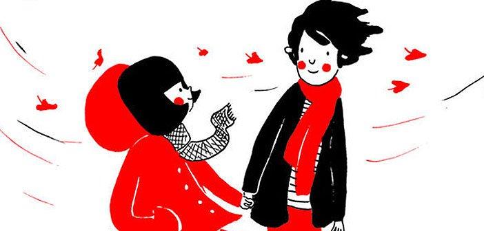 ljubav ilustracija