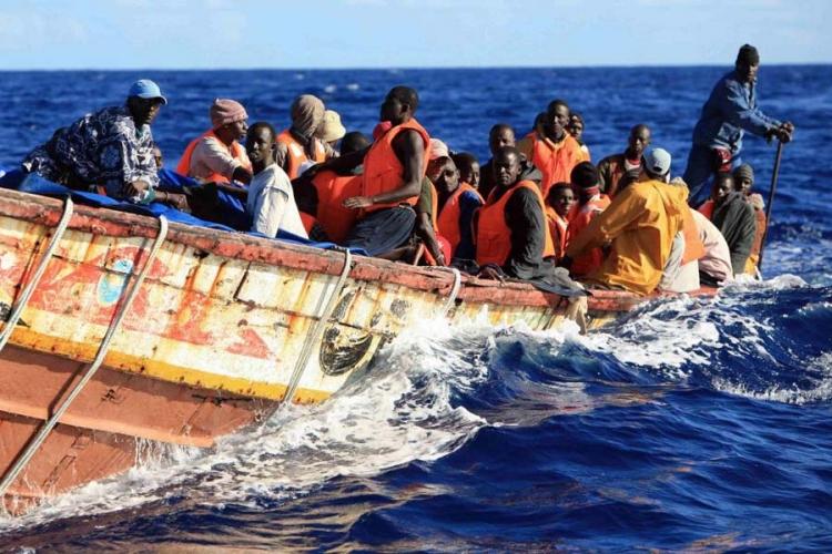 migranti more