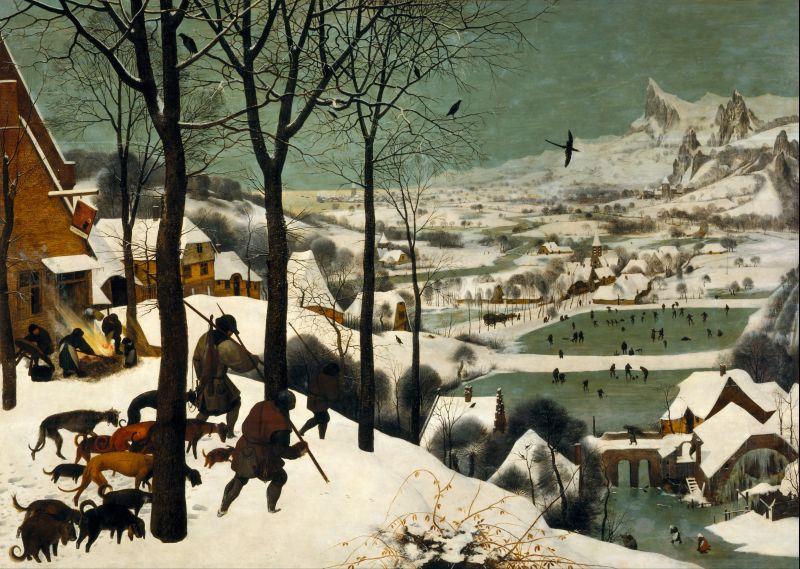piter-brojgel-stariji-lovci-u-snegu