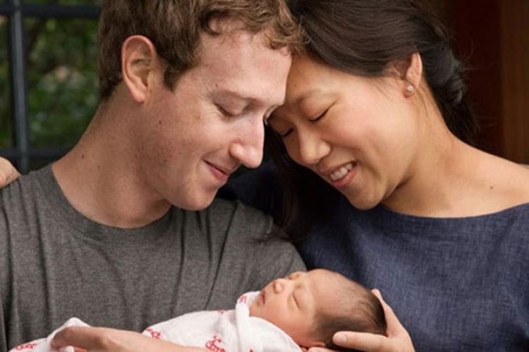 Cukemberg postao tata, donira bogatstvo u dobrotvorne svrhe
