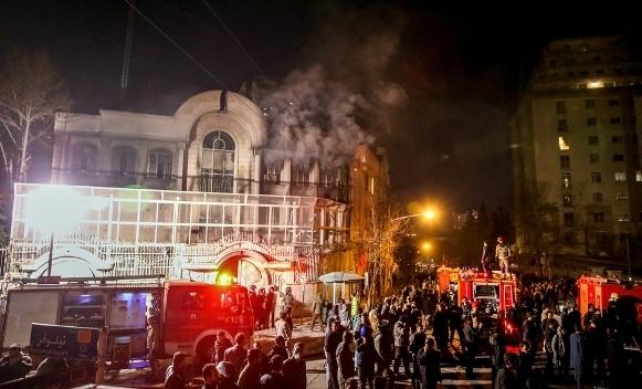 Teheran ambasada saud arabije