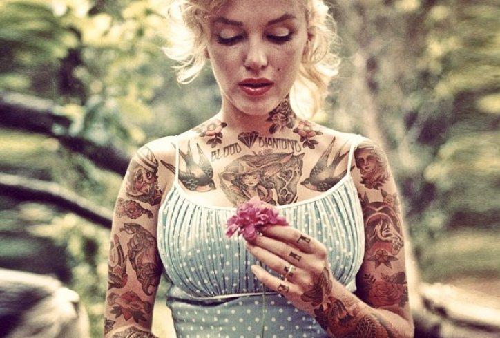 holivudske zvijezde tetovaze