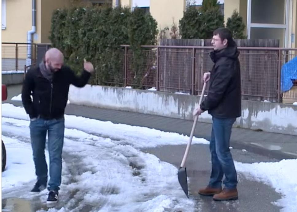 kako izbjeci ciscenje snijega