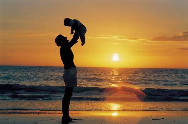 otac s djetetom