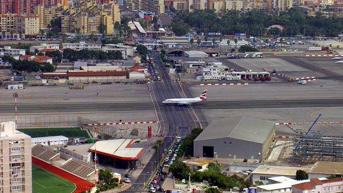 pista aerodroma na gibraltaru