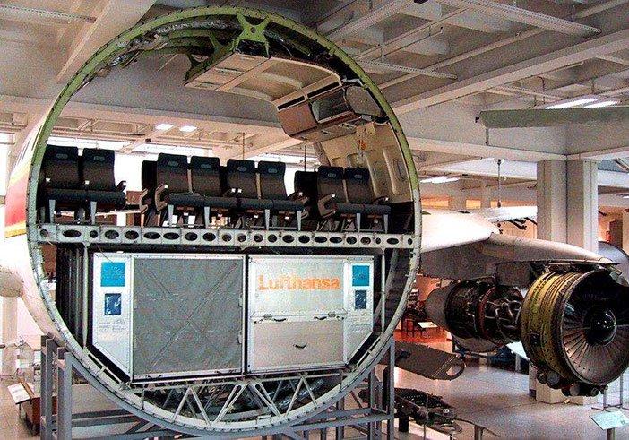 presjek putnickog aviona