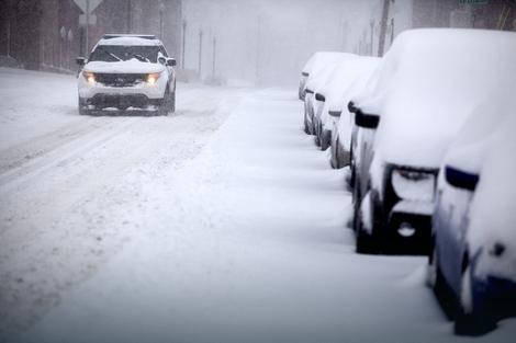snijeg oluja sad