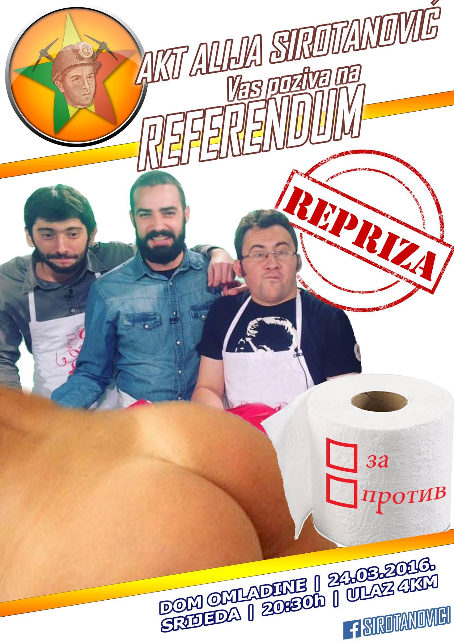 Referendum - repriza