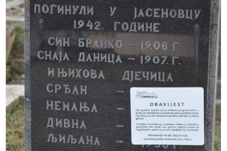 (FOTO) Iskopavaju srpske grobove na Pravoslavnom groblju Gravrinica u Pakracu