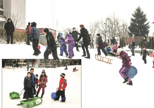 igraliste borik zima
